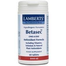 BETASEC ANTIOXIDANTE 60COMP LAMBERTS