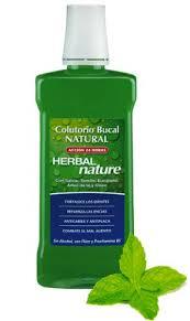 COLUTORIO HERBAL NATURE C/FLUOR 500ML NATYSAL