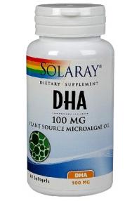 DHA NEUROMINS 100MG 30PERLAS SOLARAY