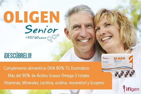 OLIGEN SENIOR +50/60 AÑOS 60 CAPSULAS IFIGEN