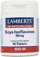 ISOFLAVONAS SOJA 60 COMP LAMBERTS