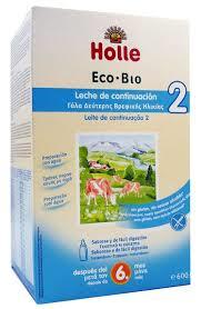 LECHE INFANTIL 2 CONTINUACION ECO600GR  HOLLE