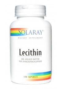 LECITINA OIL FREE 100CAP SOLARAY