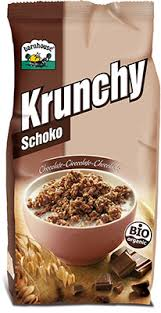 MUESLI KRUNCHY CHOCO ORIGINAL 375G BARNHOUSE