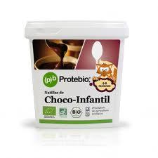 NATILLAS CHOCO INFANTIL 275GR PROTEBIO