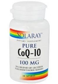 PURE COENZIMA Q10 100MG 30CAP SOLARAY