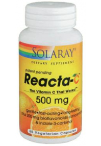 REACTA C 500MG 60CAP SOLARAY