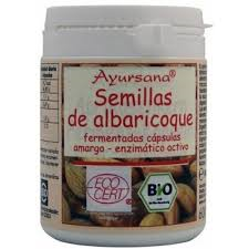SEMILLAS DE ALBARICOQUE (vit. B17) 160C AYURSANA