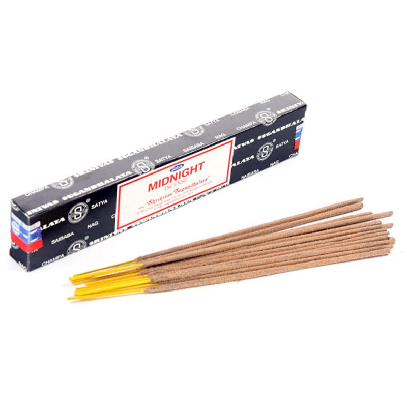 Sticks Midnight Nag Champa 12v Satya