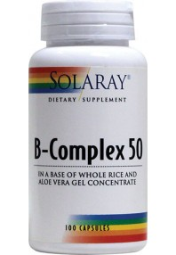 VITAMINA B COMPLEX 50 50CAP SOLARAY
