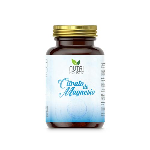 CITRATO DE MAGNESIO NUTRI HOLISTIC