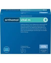 orthomol vital M Granulado 15 sobres orthomol