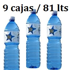 PACK 9 CAJAS 81LT AGUA DE MAR 1.5LT LACTODUERO **PORTES REBAJADOS EN UN 80%  **