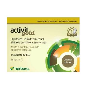 ACTIVIT GOLD 30CAP.  HERBORA