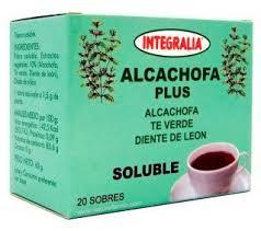 ALCACHOFA PLUS soluble 20sbrs. INTEGRALIA