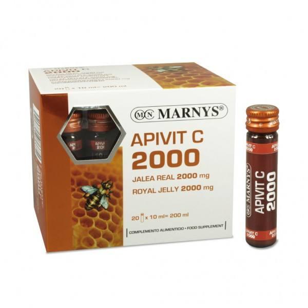 3X2 APIVIT C PLUS 2000 MG 20V MARNYS