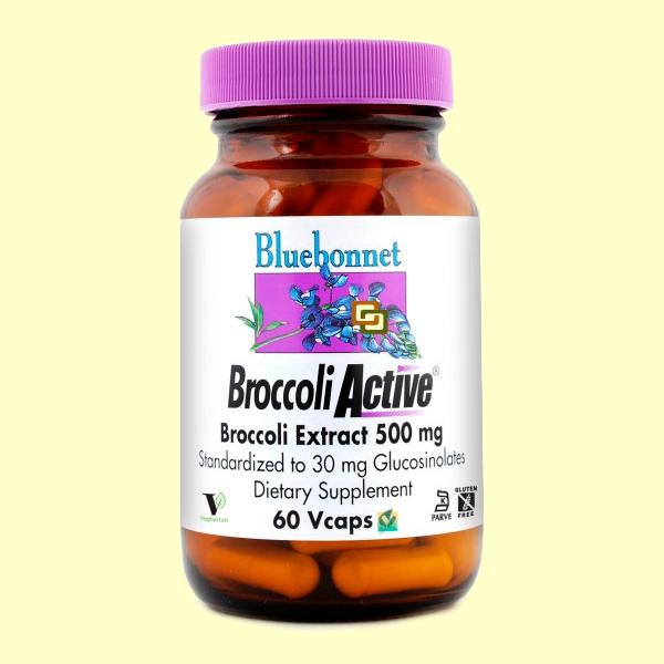 BROCCOLI ACTIVE 60CAP BLUEBONNET