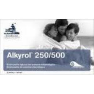 ALKYROL 500mg. 120cap. HEALTH EUROHEALTH