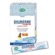 DIURERBE FORTE POCKET DRINK PIÑA 24 SOBRES TREPAT DIET ESI