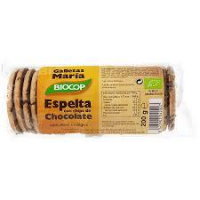 GALLETA MARIA ESPELTA CHOCO BIO 200GR BIOCOP