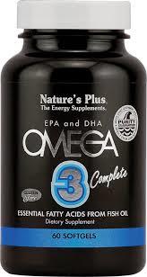 OMEGA 3 COMPLEX 60PERLAS NATURE´S PLUS