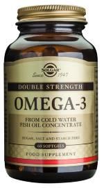 OMEGA 3 double strength 120 PERLAS SOLGAR