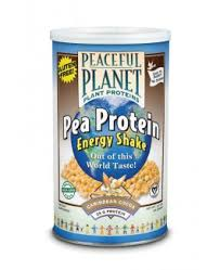 PROTEINA GUISANTE chocolate 400gr PEACEFUL PLANET SOLARAY