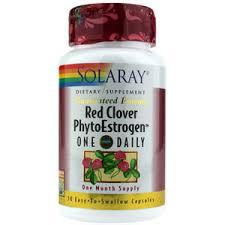 RED CLOVER phytoestrogen 30cap SOLARAY