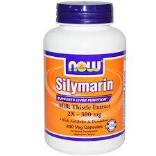 SILIMARIN 2X 300MG 50cap NOW