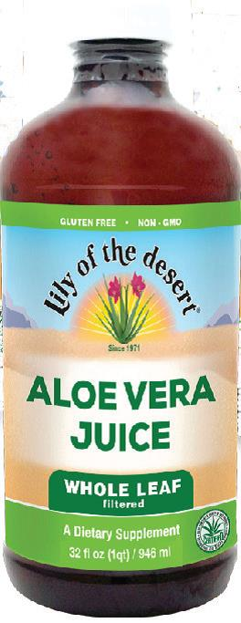 ZUMO ALOE VERA 99,7% LILY OF THE DESERT