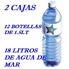 PACK 2 CAJAS 18LT AGUA DE MAR 1.5LT LACTODUERO