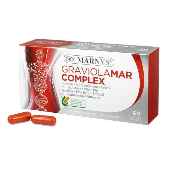 GRAVIOLAMAR COMPLEX 60CAP MARNYS
