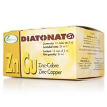 DIATONATO 5/1 - Zinc-Cobre 12 viales SORIA NATURAL