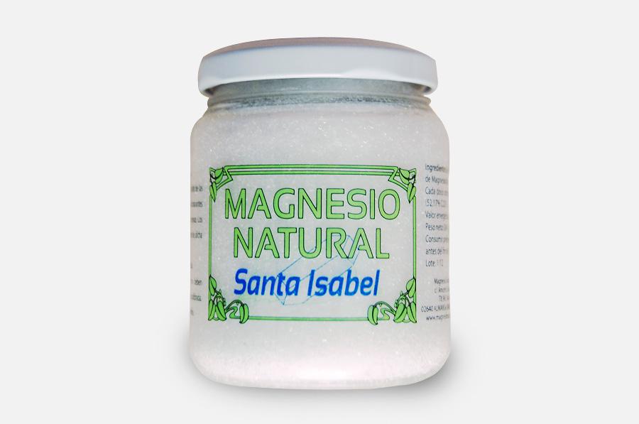 MAGNESIO TARRO 240GR SANTA ISABEL