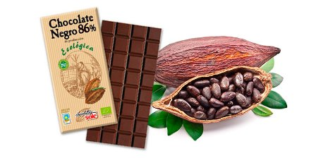CHOCOLATE NEGRO VEGANO 86% ECO 100GR CHOCOLATE SOLE
