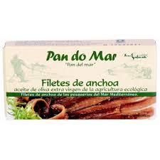ANCHOAS FILETES ACEI OLIVA ECO 50GR PAN DO MAR