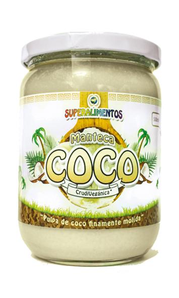COCO MANTECA EN POLVO 500G MUNDO ARCOIRIS