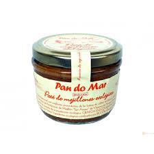 PATE MEJILLON ECO VIDRIO 148GR PAN DO MAR