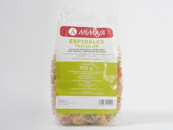 ESPIRALES TRICOLOR ECO 500GR MIMASA