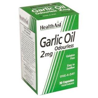 Aceite de ajo Allium sativum 2mg HealthAid
