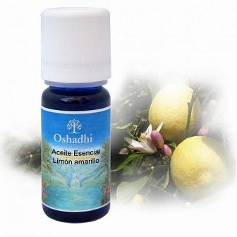 Aceite esenciales Limón Amarillo 10 ml OSHADHI