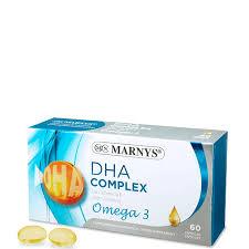 DHA COMPLEX + OMEGA 3 500MG 60 CAP MARNYS