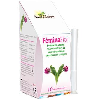 FEMINA FLOR CAPSULAS VAGINALES 10 OVULOS SURA VITASAN