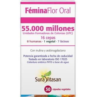 FEMINA FLOR oral 30 CAPSULAS VAGINALES SURA VITASAN