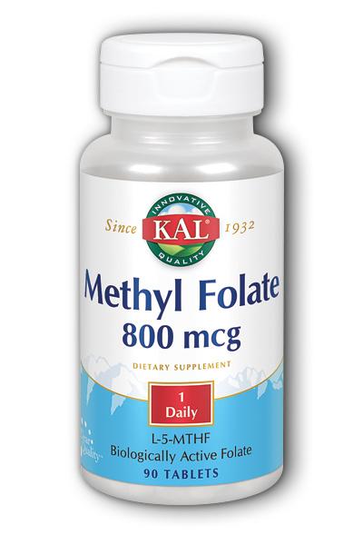 METHYL FOLATE 800MG 90COMP KAL