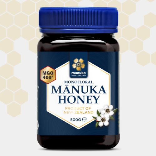 Miel de Manuka MGO®400+ Manuka Honey 500g MANUKA WORLD