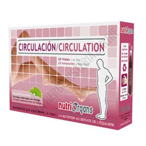 Nutriorgans Circulación 20 viales de 10 ml. TONGIL