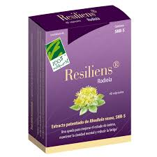 RESILIENS Rodiola 40capsulas 100 % NATURAL