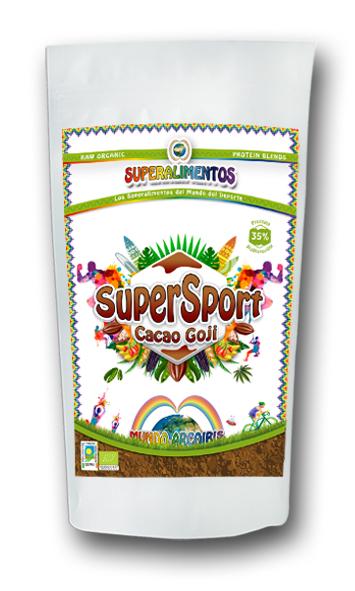 SUPERSPORT CACAO GOJI 500GR MUNDO ARCOIRIS
