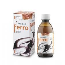 FERRO JARABE 250ML  VENDREL
